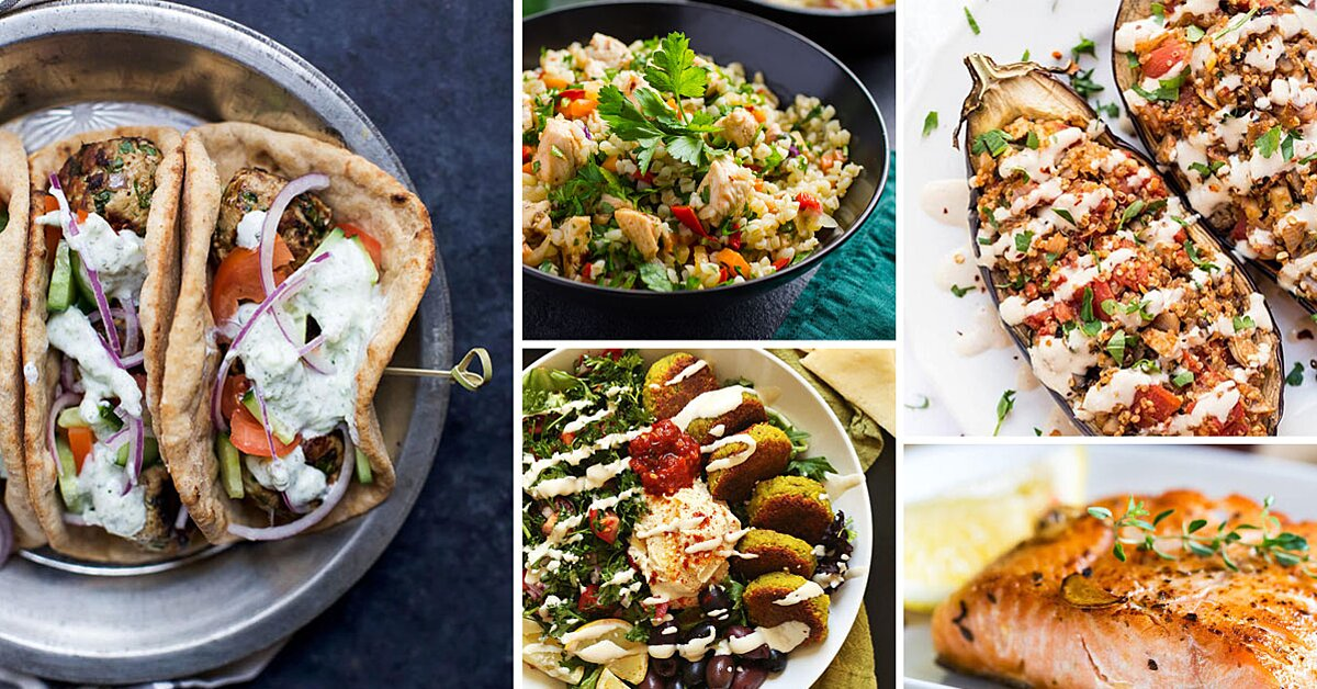 50 Healthy Mediterranean Diet Recipes and Meal Ideas