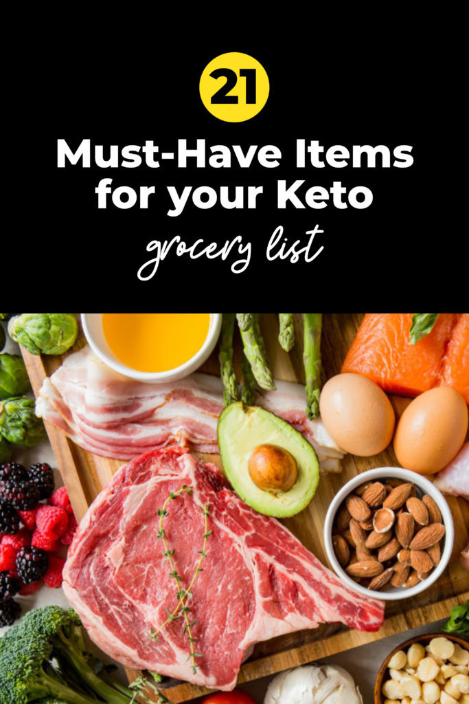 Keto Shopping List Updated for 2020!