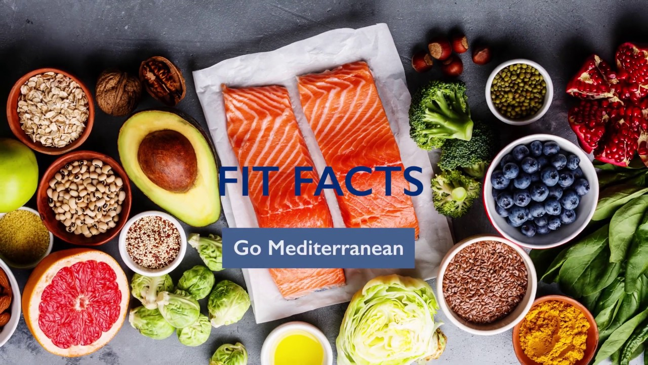Fit Facts: Benefits of a Mediterranean Diet