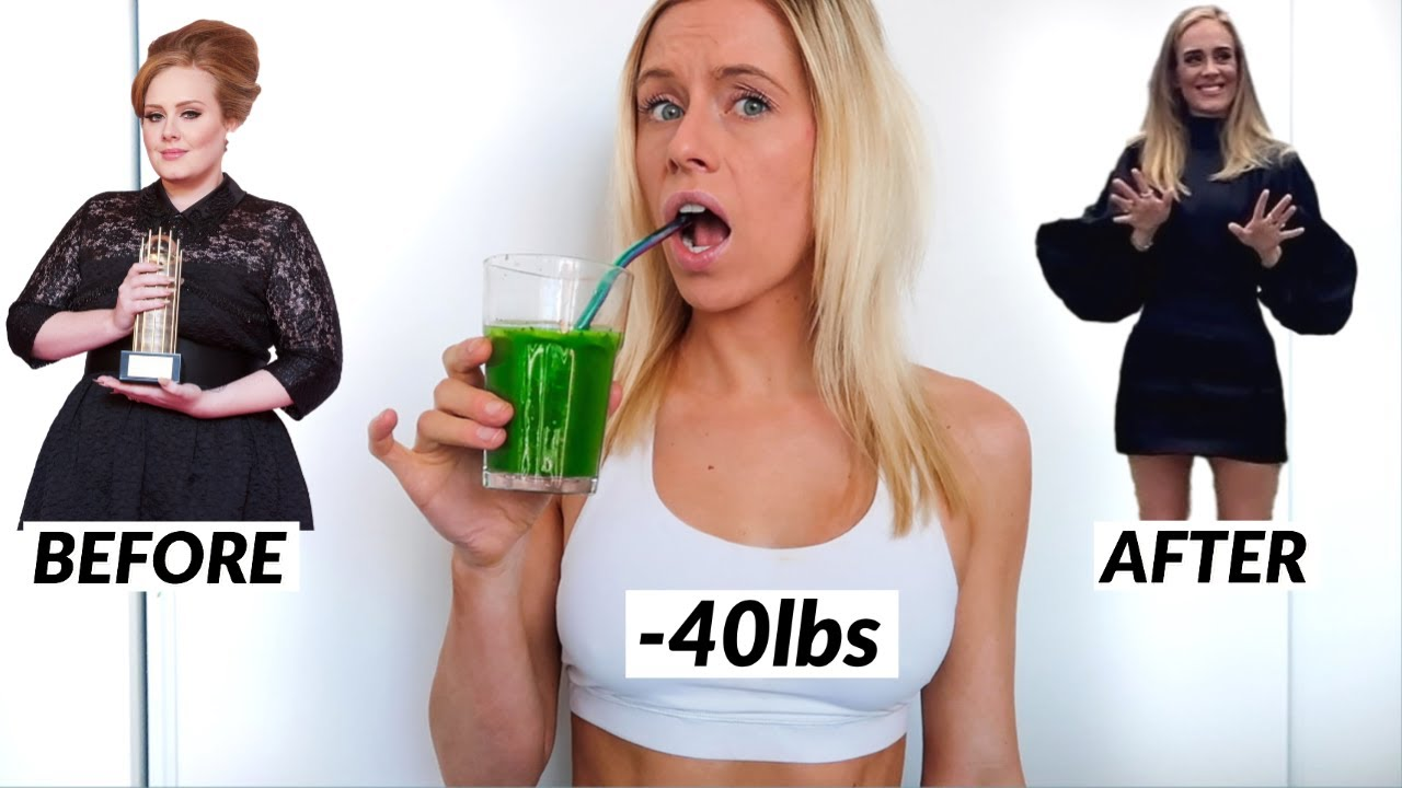 I Tried Adele's 40lb Weight Loss Program SIRTFOOD DIET