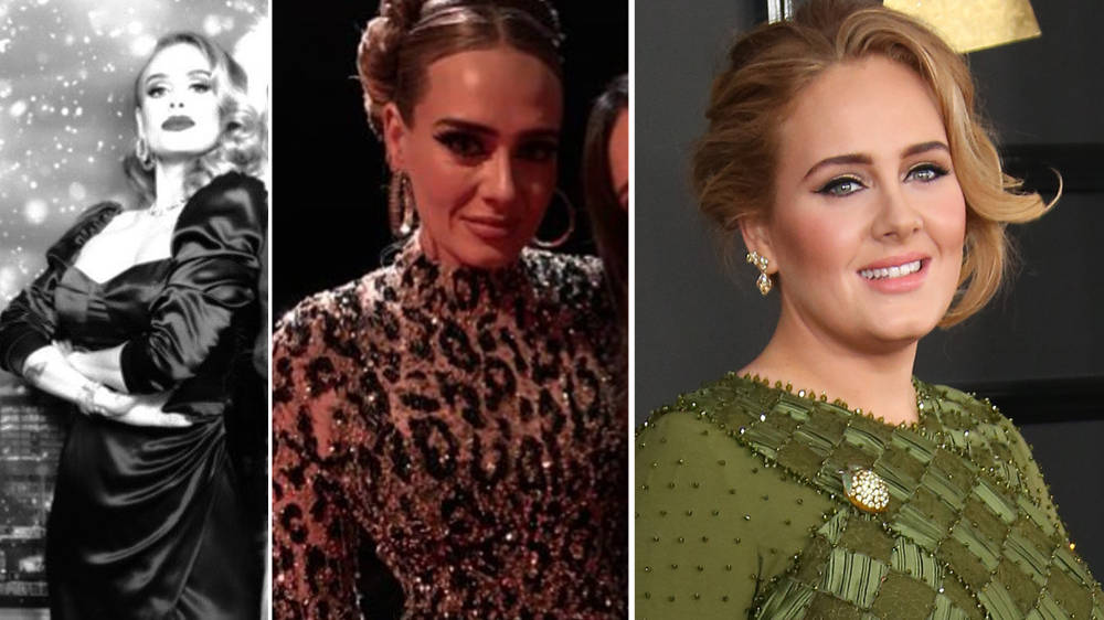 Adele's weight loss in pictures