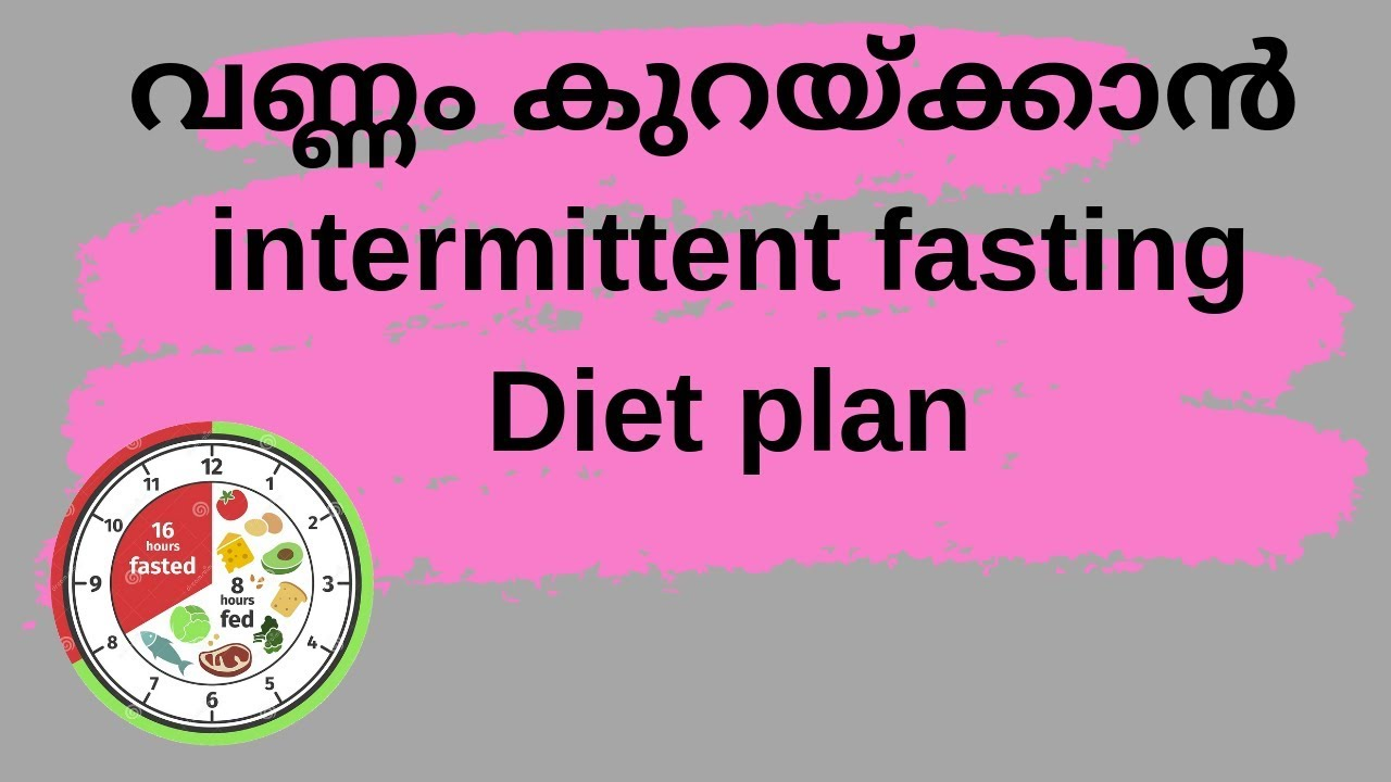 Intermittent Fasting Diet Plan for Weight loss || മലയാളം