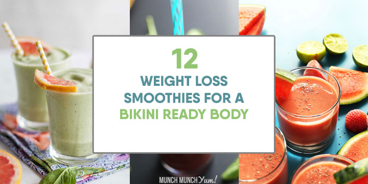 12 FAT BLASTING Weight Loss Smoothies (+ Easy Recipe)