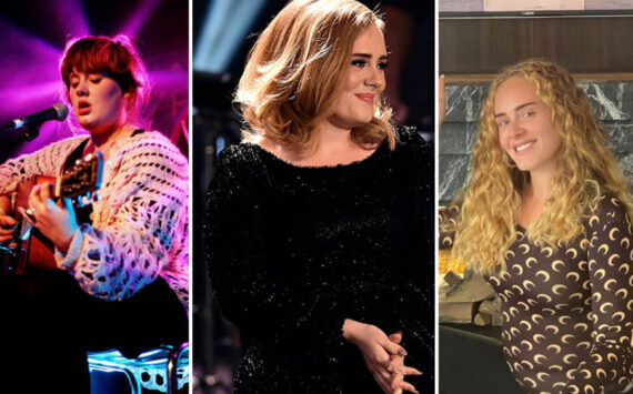 Adele's transformation through the years