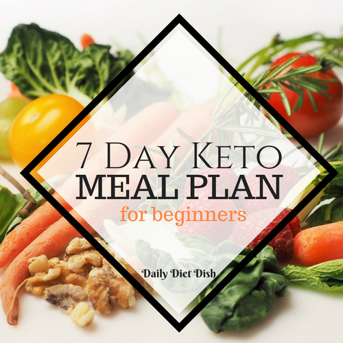 Keto Meal Plan | Easy 7 Day Keto Diet Meal Plan For Beginners