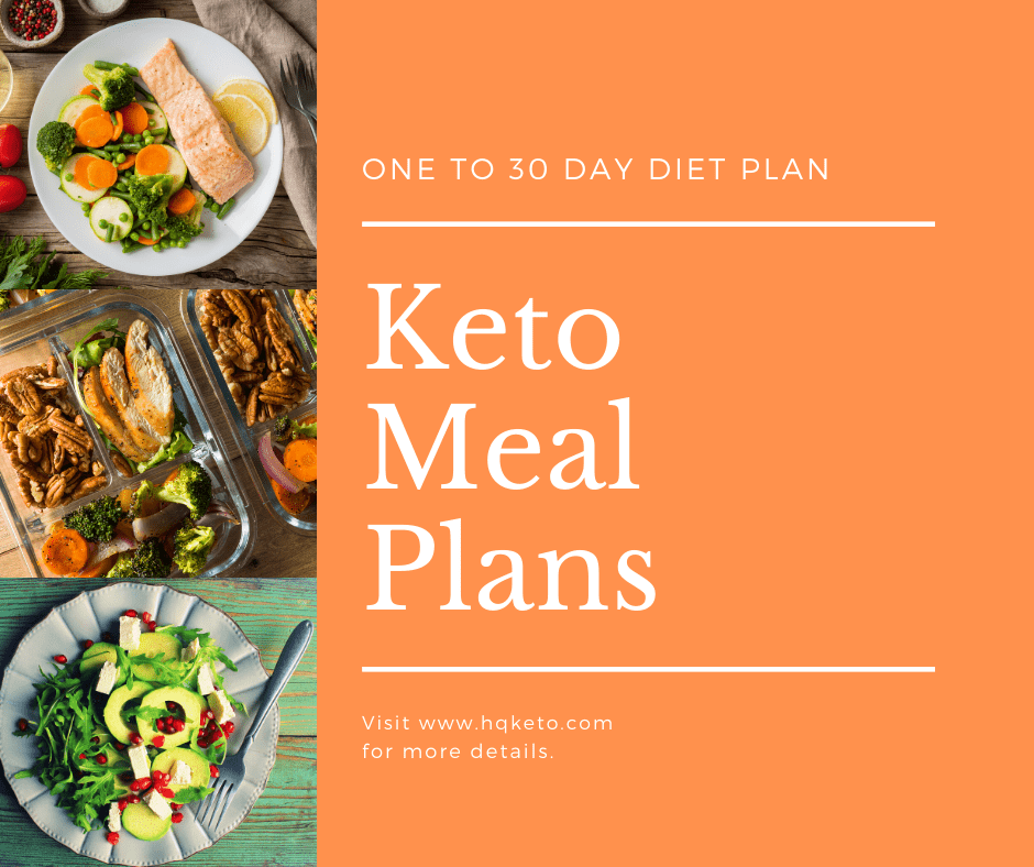 1 To 5 Week Ketogenic Diet Meal Plans