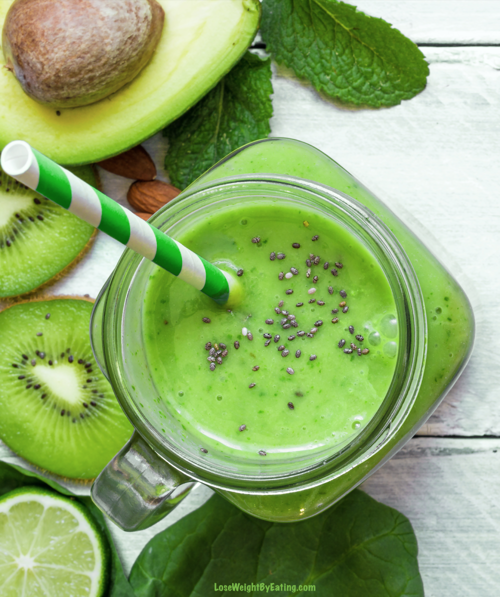 8 Detox Smoothie Recipes for a Fast Weight Loss