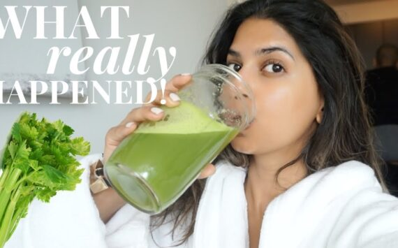 I drank CELERY JUICE for 7 Days and this is what happened…