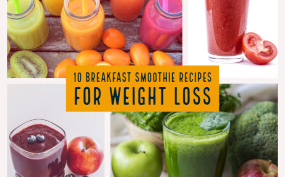 10 Best Breakfast Smoothie Recipes For Weight Loss