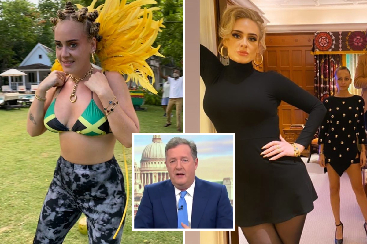 Piers Morgan defends Adele as she tops trolling list after 7 stone weight loss
