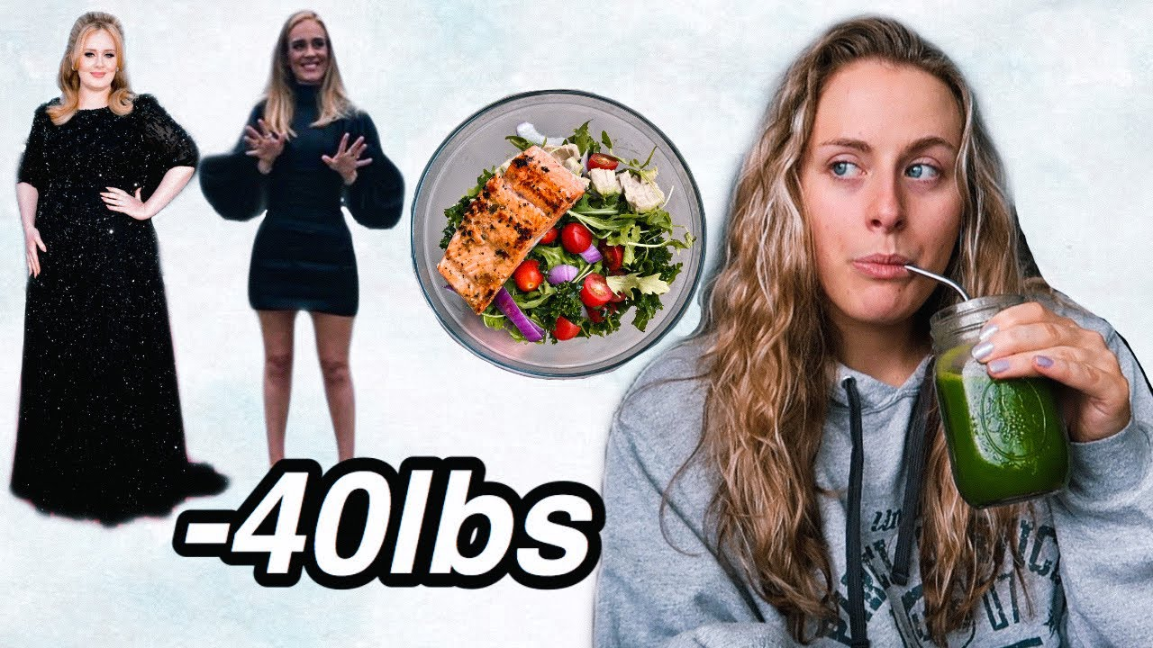 I TRIED ADELE'S WEIGHT LOSS DIET (sirtfood diet) *it actually works*