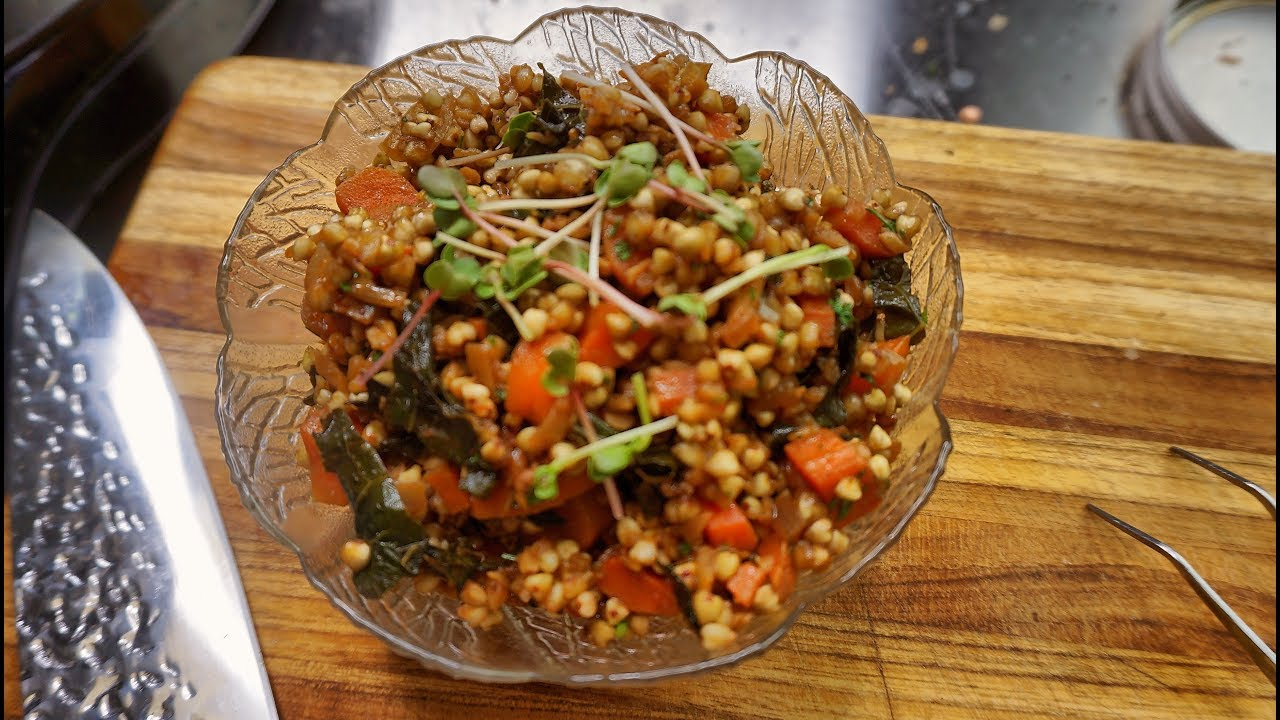Buckwheat Recipe – clean eating – vegan plant based cooking channel