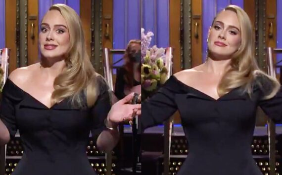 Adele jokes about her weight loss in her 'SNL' monologue: 'I had to travel light and could only bring half of me'