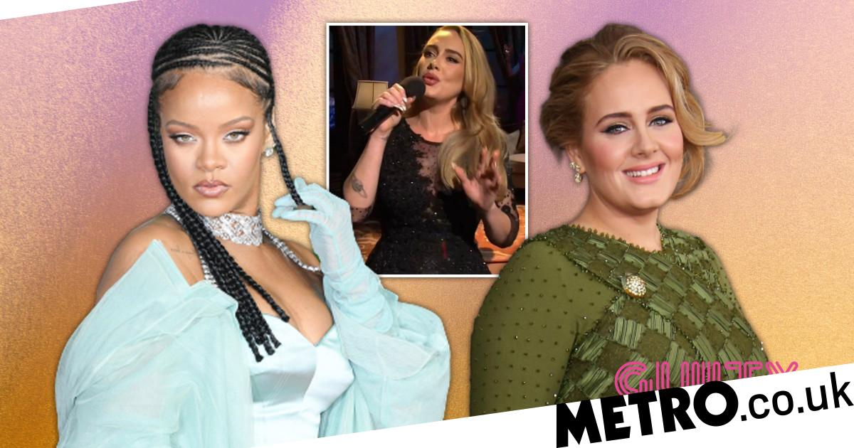 Rihanna praises pal Adele's transformation: 'She did it for herself'