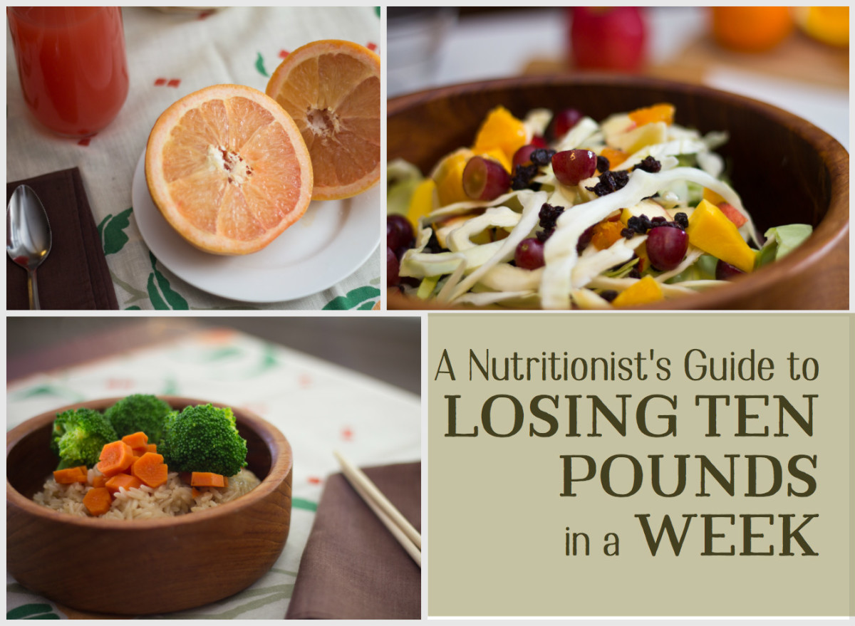 Lose 10 Pounds in a Week: Seven-Day Diet Plan