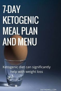 The 7-Day Ketogenic Diet Meal Plan ( + A Beginner's Guide ) – Healthy Food
