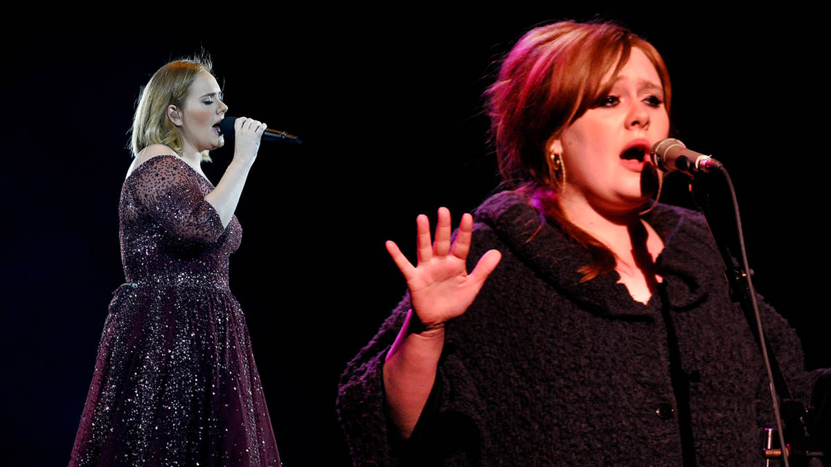 Adele is unrecognisable as she reveals three stone weight loss in skintight leopard-print Halloween costume