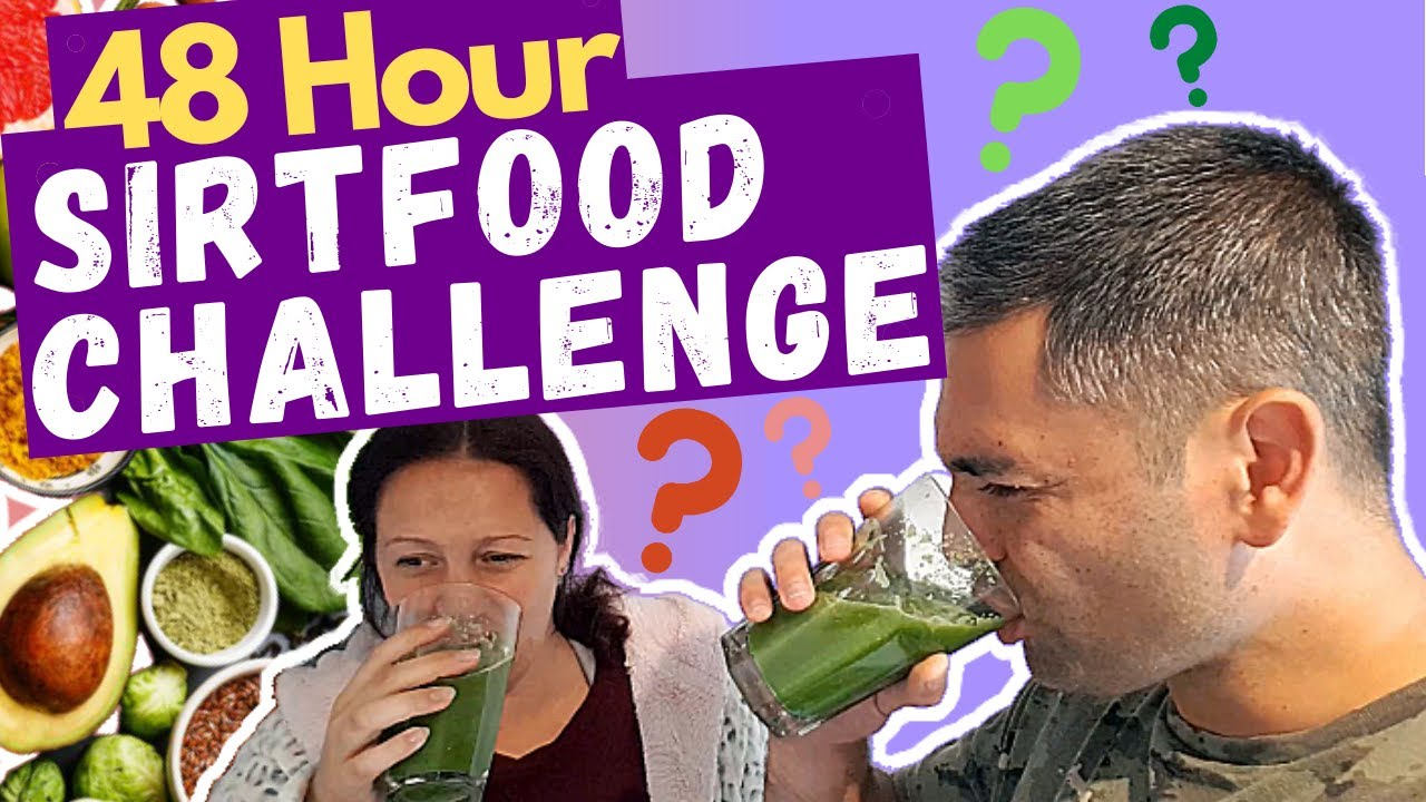 We Tried Adele's Sirtfood Diet For 48 Hours || SIRTFOOD CHALLENGE
