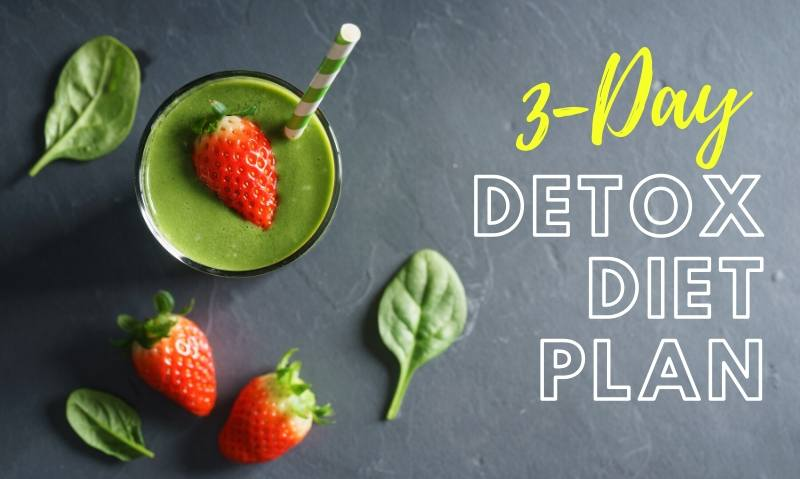 3-Day Detox Diet Plan and Cleanse Recipes for Rapid Weight Loss