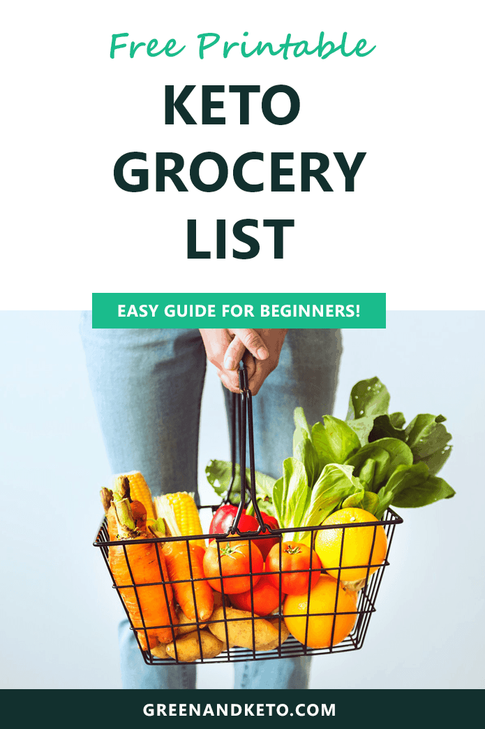 Ketogenic Diet Shopping List – Green and Keto