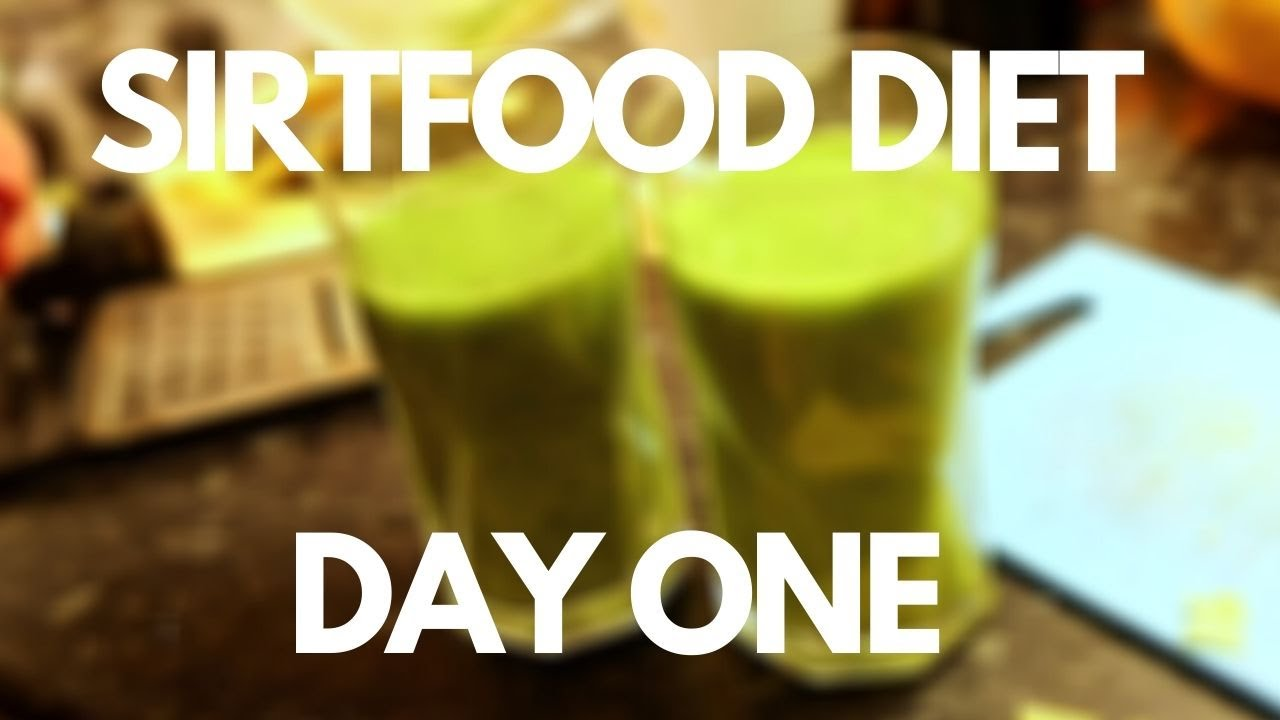 we have started sirtfood diet – sirtfood diet day one