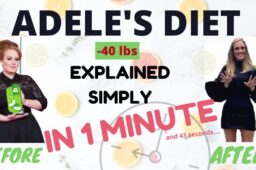 SIRT FOOD DIET in 1 minute | Adele's Diet explained