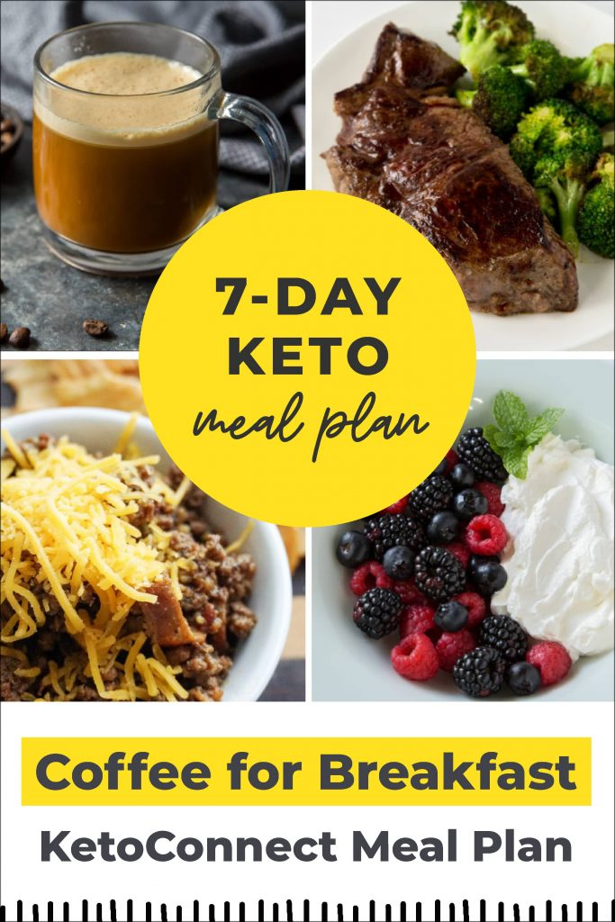 7 Day Easy Keto Meal Plan (Grocery Guide Included!)