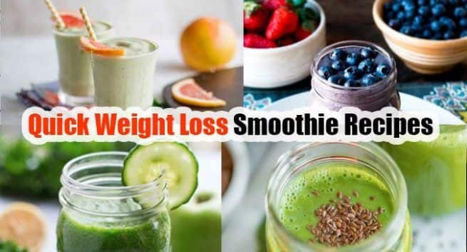 Weight loss: 5 delicious smoothie recipes to get rid of belly fat fast