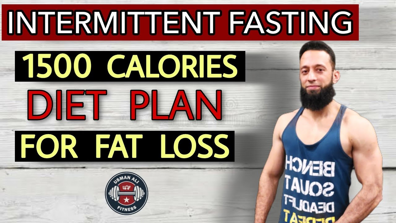 Diet Plan For Fat Loss | Intermittent Fasting Diet Plan For Weight Loss | Urdu/Hindi