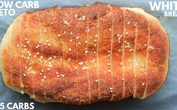 KETO BREAD | The BEST Easy Low Carb White Bread Recipe For The Keto Diet