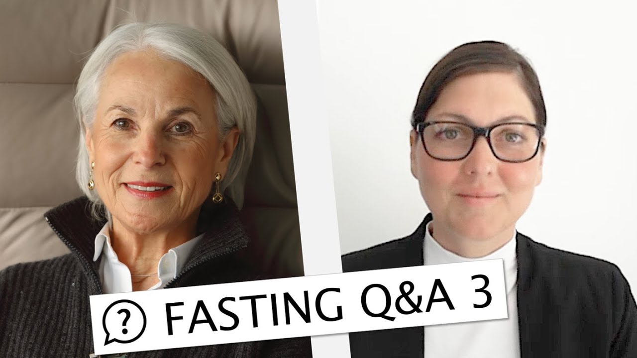 Q&A Session 3: FASTING AND COVID-19 (Nutrition: Intermittent Fasting, Keto, Raw food..?)
