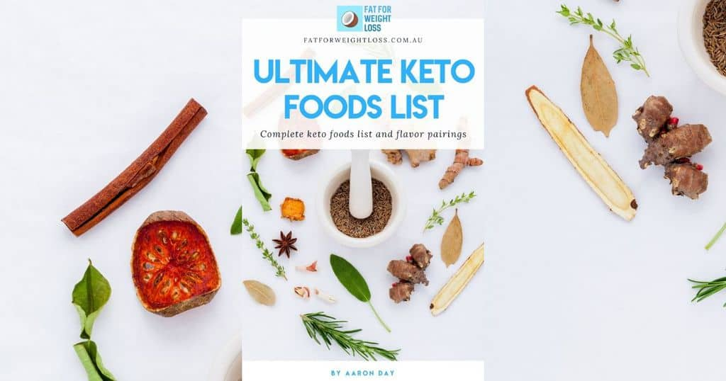 Keto Foods List