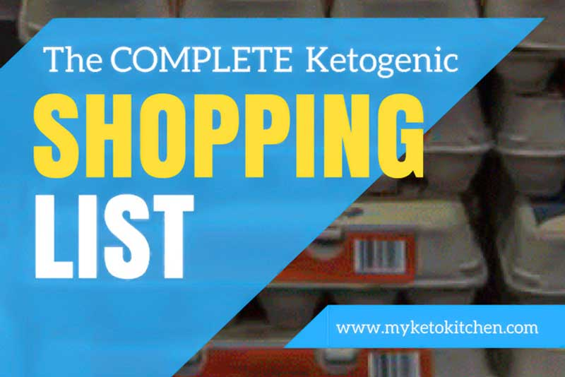 Keto Food List – #1 Comprehensive Guide to Low-Carb Shopping