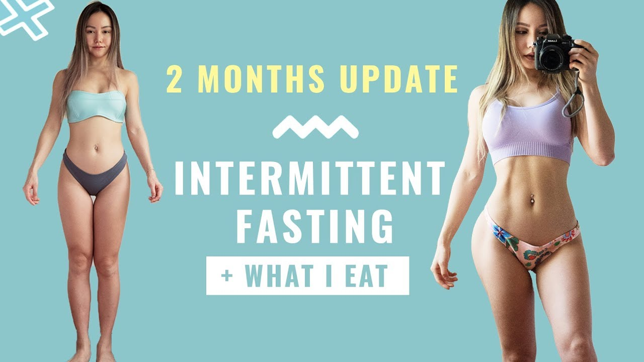 2 months of Intermittent Fasting Weigh In | Body Fat | Keto? + What I Ate