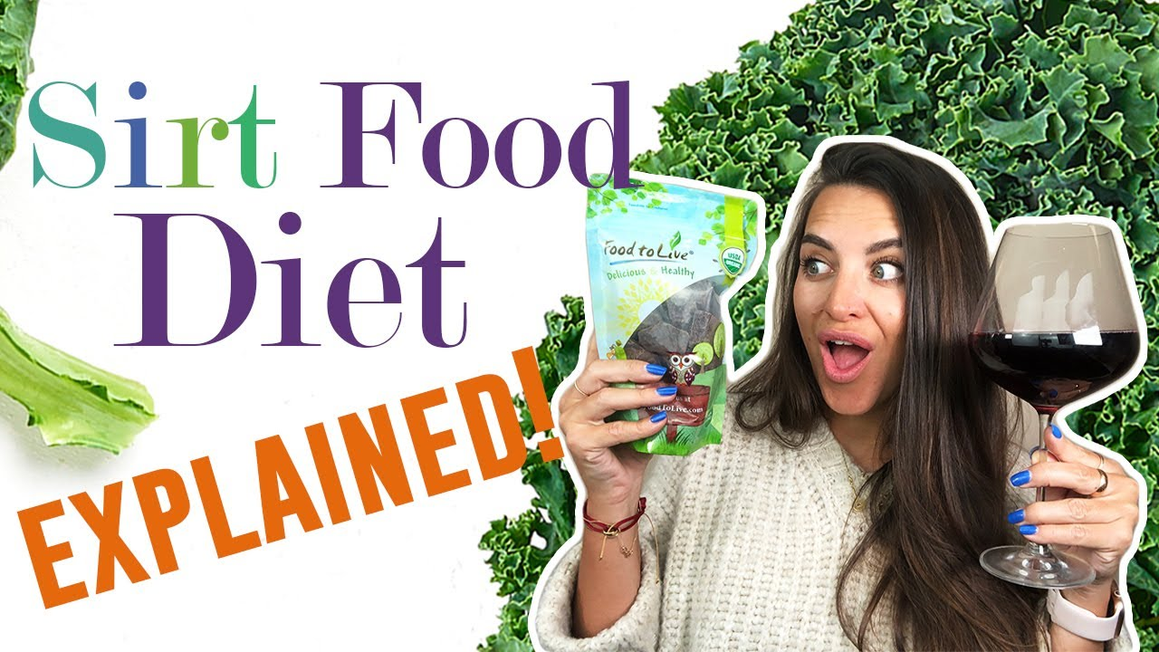 The Sirtfood Diet – EXPLAINED!  Wine & Chocolate Diet