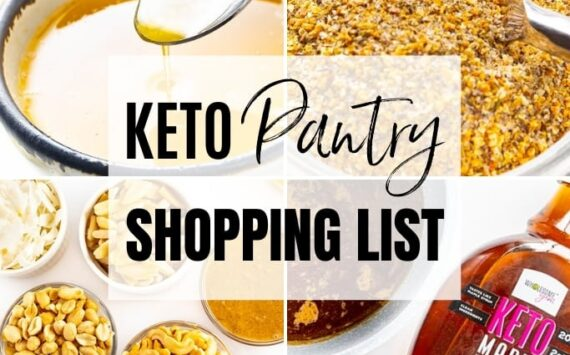 The Complete Keto Pantry Staples List