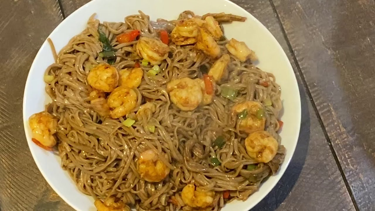 Sirtfood diet recipes. Chinese Style Buckwheat Noodles.