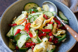 Mediterranean Cucumber Salad Recipe – Cookin Canuck