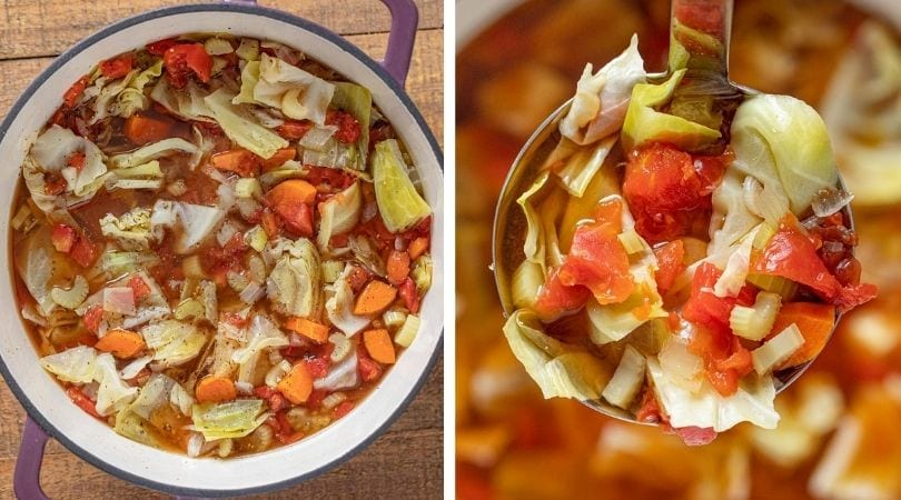 Weight Loss Cabbage Soup Recipe (Wonder Soup)