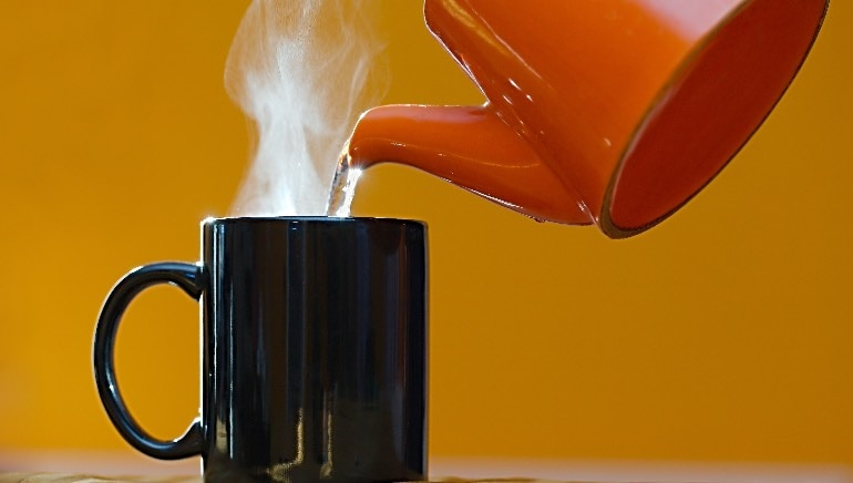 Yes, you can lose weight by drinking hot water. Here's how