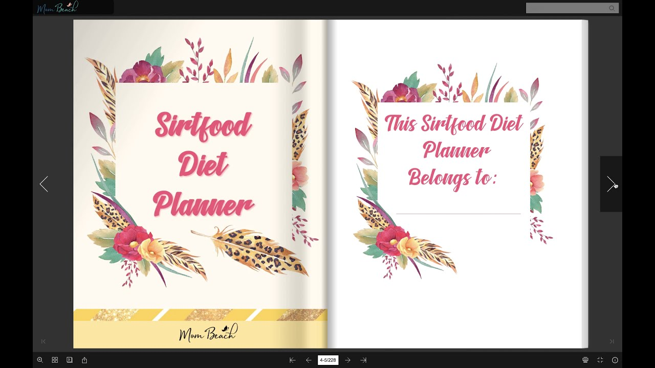 Sirt Food Diet Planner – Lose Weight Like Adele with the Sirtfood Diet!