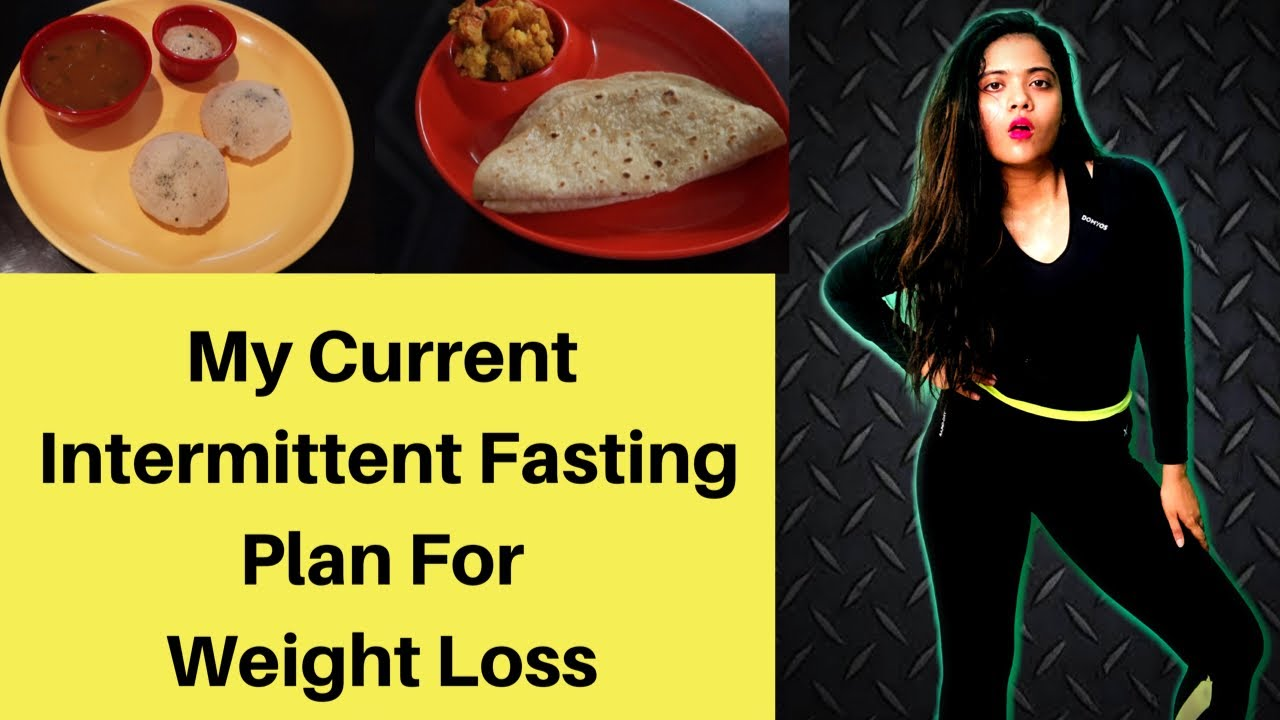 My Current Intermittent Fasting Plan for Weight Loss At Home   Full Day Diet Plan   Somya Luhadia