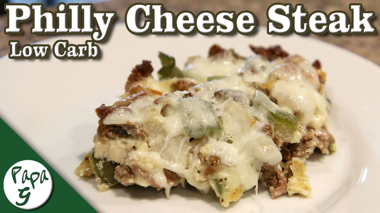 Philly Cheese Steak Casserole – Low Carb Keto Recipe