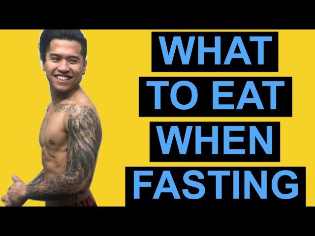 Here's What To Eat When Intermittent Fasting (Intermittent Fasting Meal Plan)