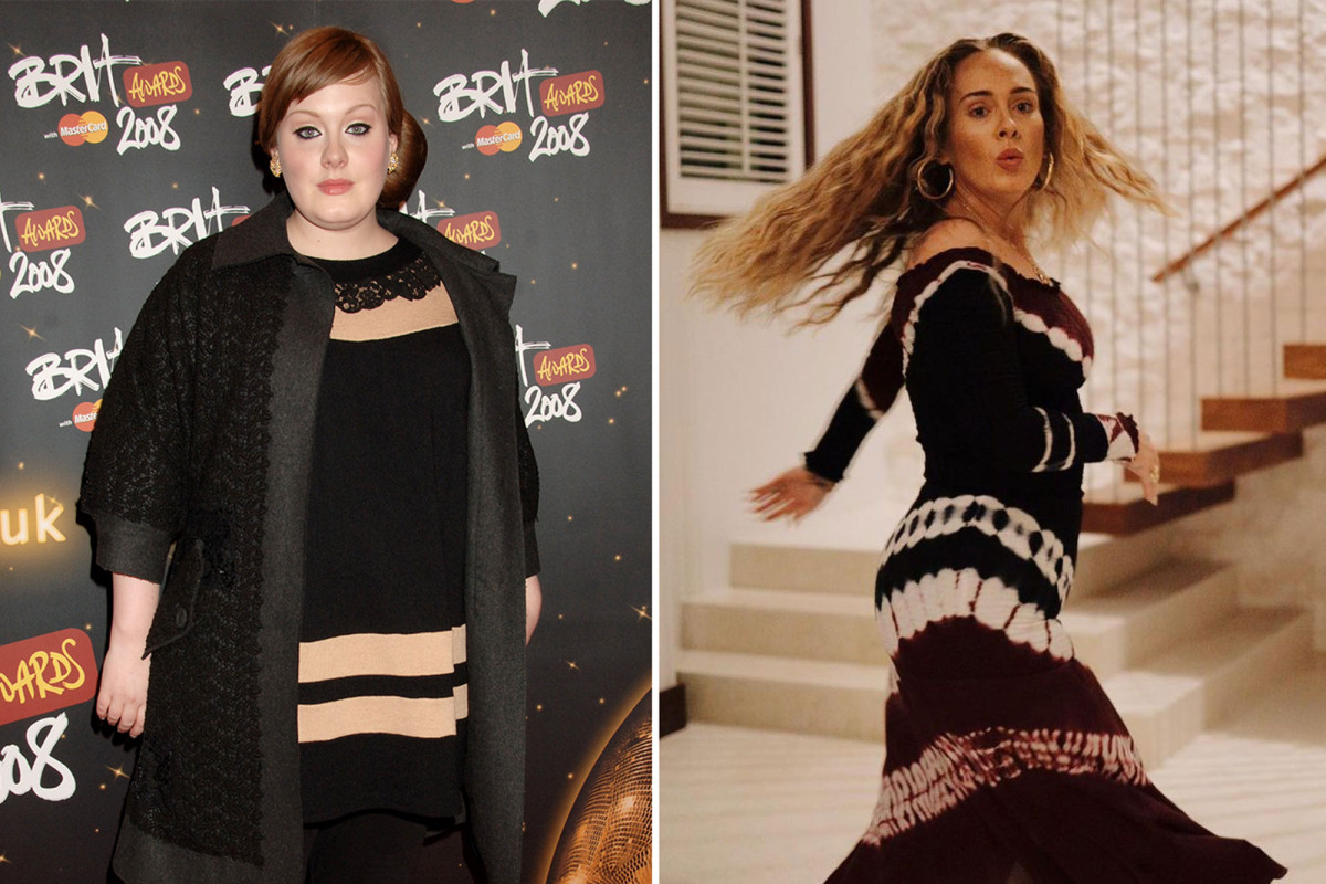 Adele's weight loss transformation in photos