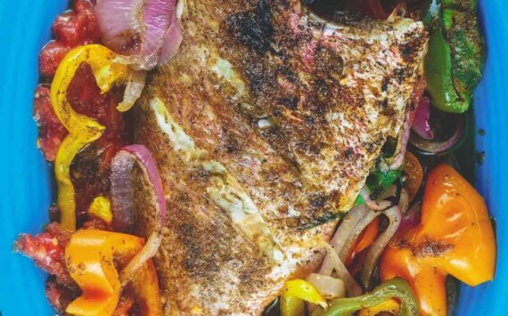 Mediterranean Whole Roasted Red Snapper Recipe