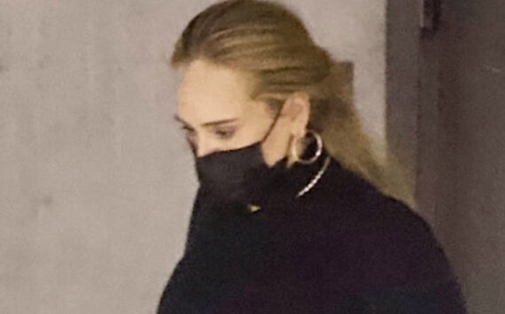 Adele shows off incredible weight loss as she flashes legs on date night